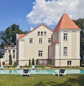 Pałac Pacółtowo - park