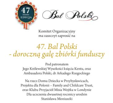 Bal Polski w Coolturze: Naszą Misją Jest Pomoc