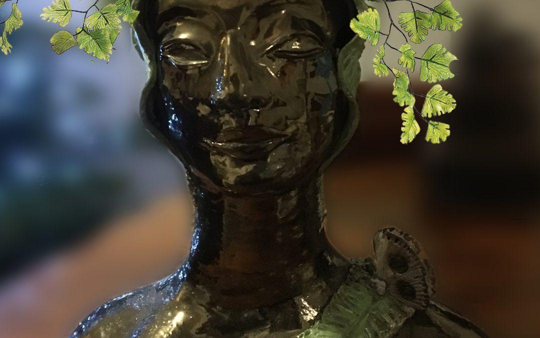 Bronze Glazed Ceramic Jardiniere