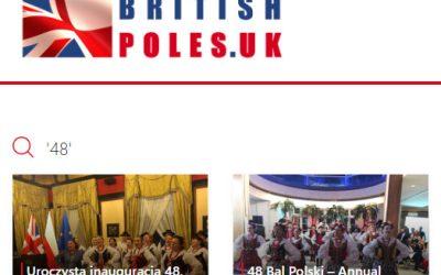 Uroczysta inauguracja 48. Balu Polskiego w Londynie